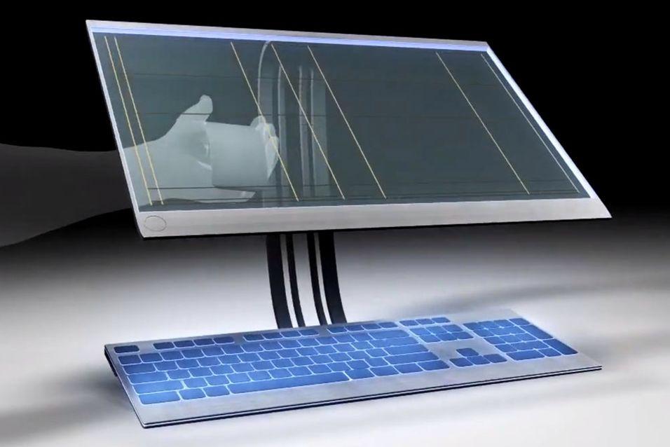 Snart kommer gjennomsiktige skjermer