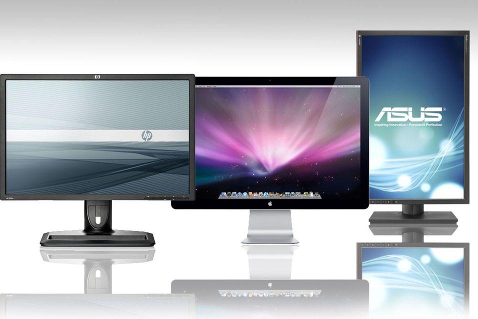 ANBEFALING: Dette er PC-skjermene du bør velge