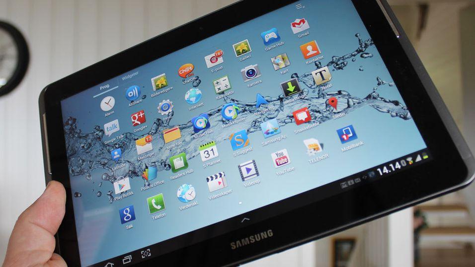 TEST: Samsung Galaxy Tab 2 10.1
