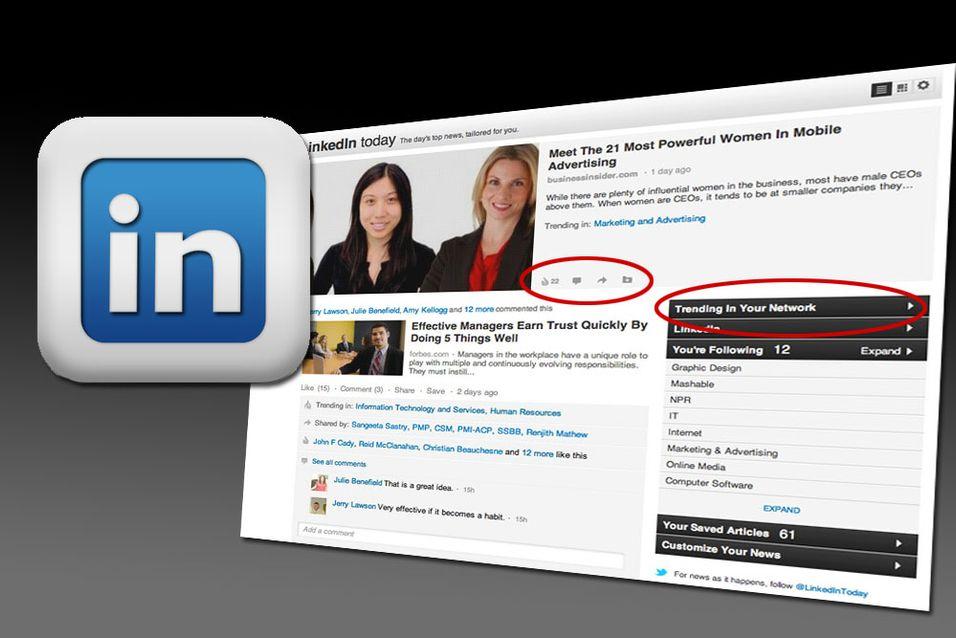 LinkedIn følger i Facebooks fotspor