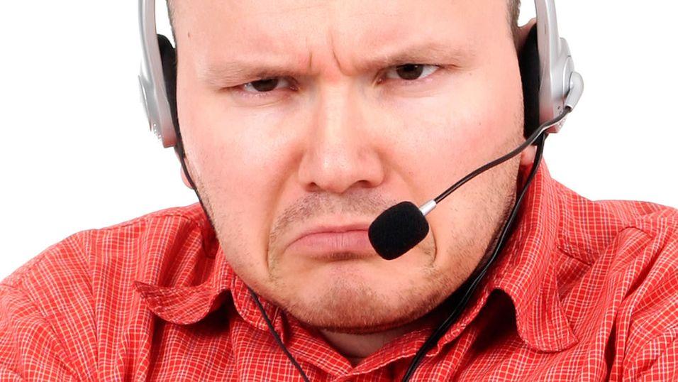 Telenors kundeservice i hardt vær