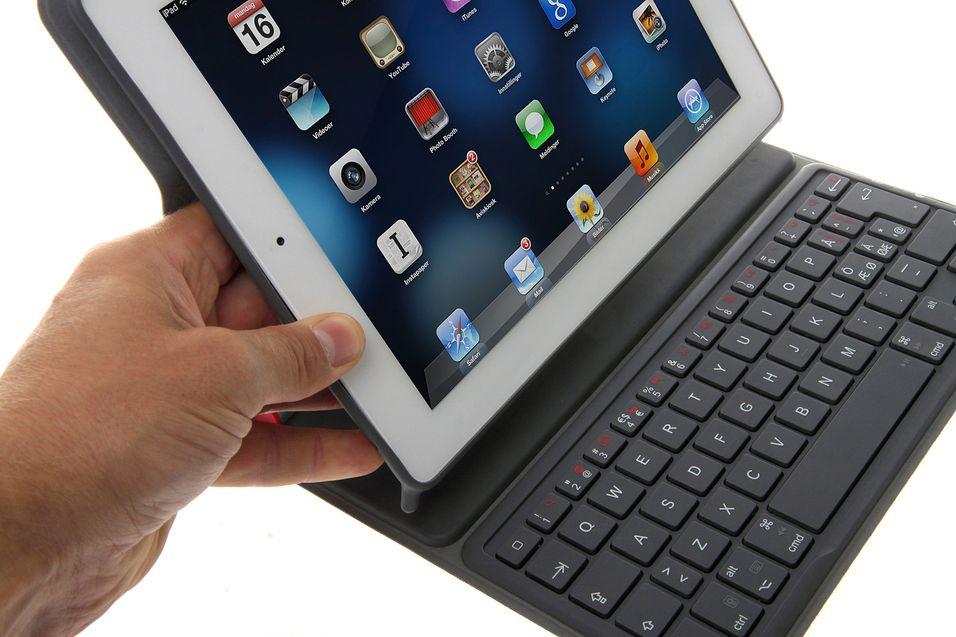 Logitech Solar Keyboard Folio er et solcelledrevet tastatur til iPad.