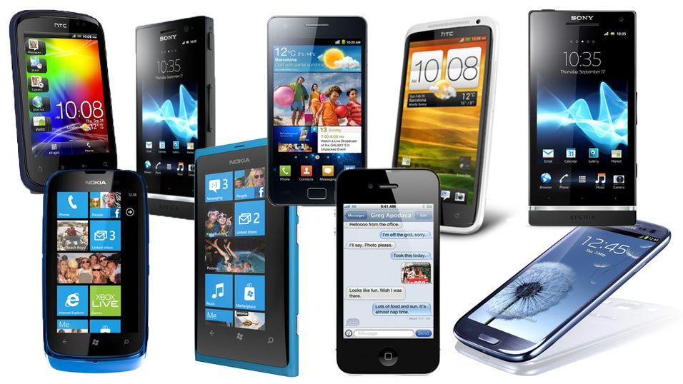 Disse mobiltelefonene solgte best hos NetCom i juni.