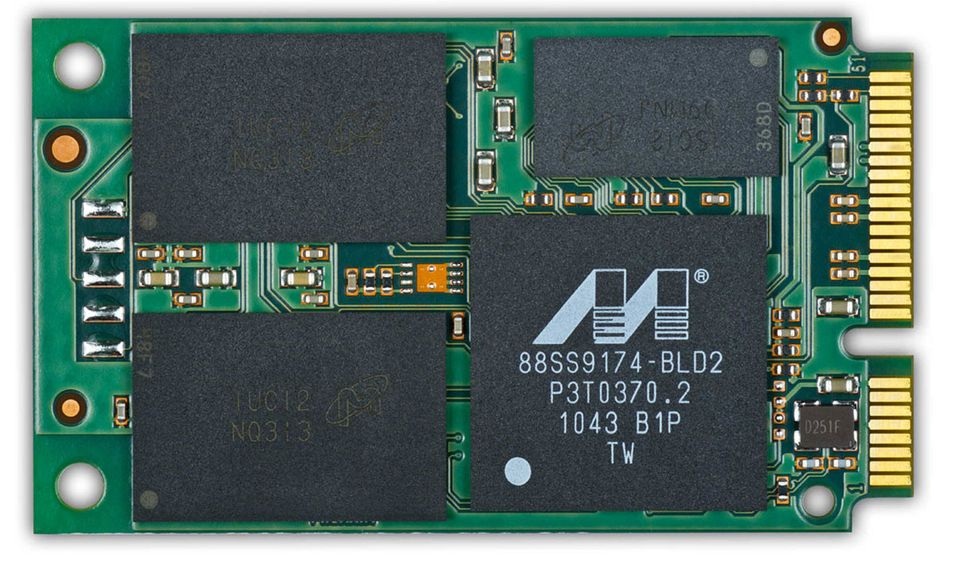 Crucials nye M4 i mSATA-formatet.
