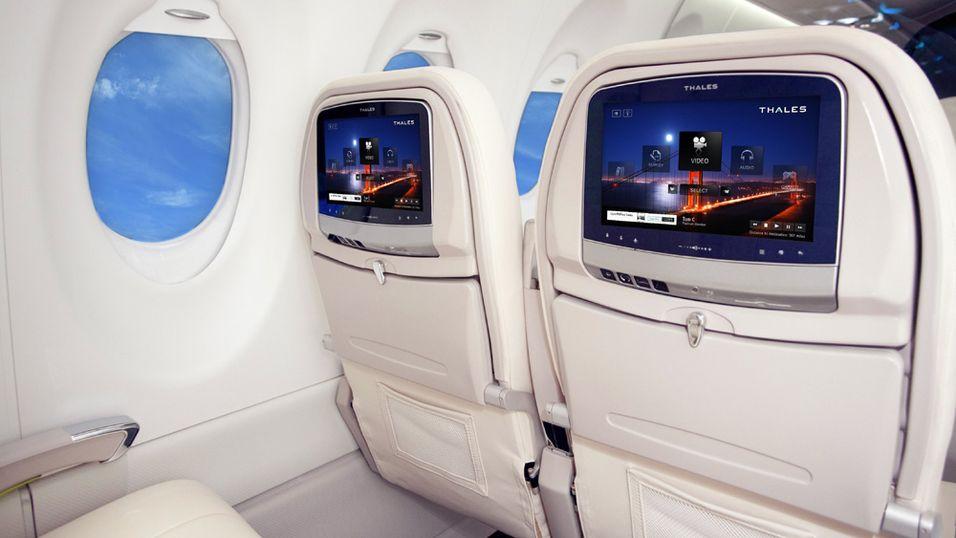 Qatar Airways blir det første flyselskapet som tar i bruk det nye Android-baserte underholdningssystemet Avant fra Thales.