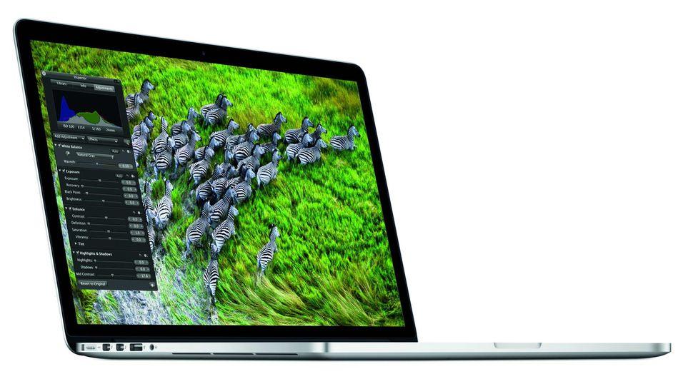 Apple MacBook Pro med Retina-skjerm.