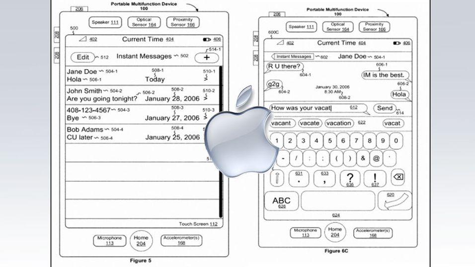 Apple fikk godkjent drømmepatent