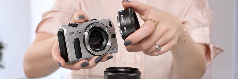 Canon lanserer EOS-M