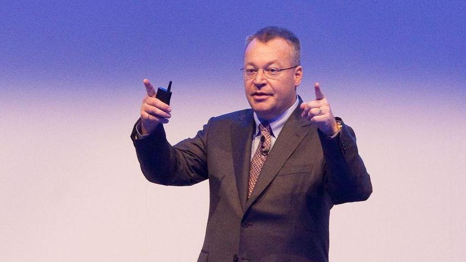 Nokias toppsjef Stephen Elop.