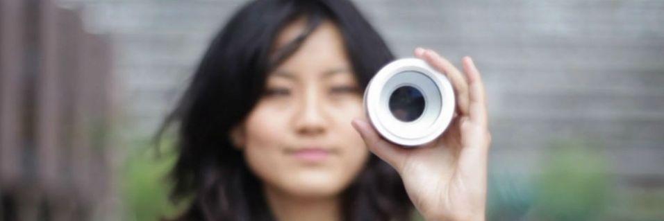 Styr kameraet med øyet
