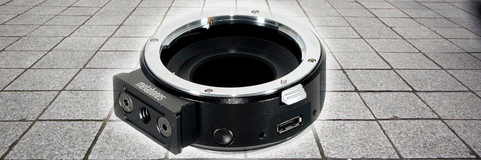 Oppgradert adapter til Sony NEX