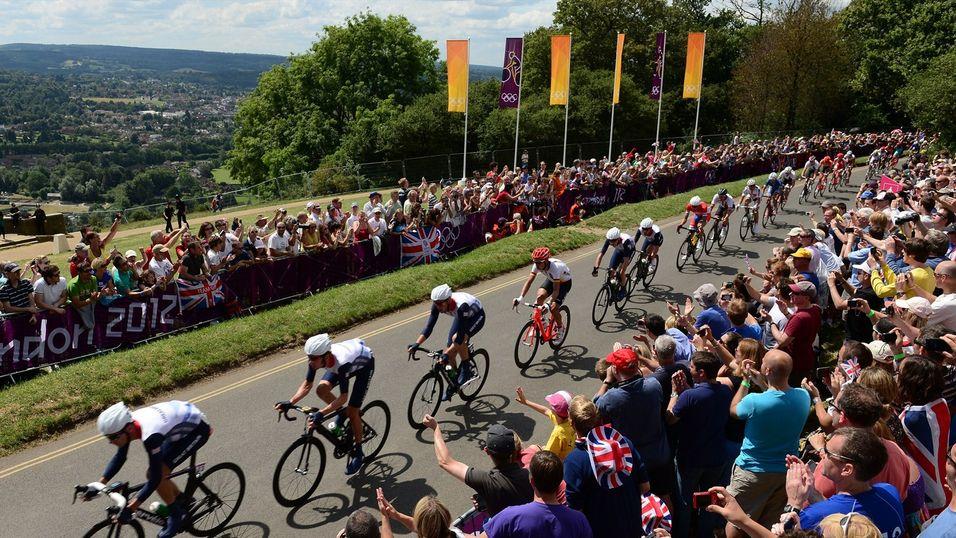 Litt for mange tilskuere twitret under herrenes sykkelritt lørdag 28. juli.