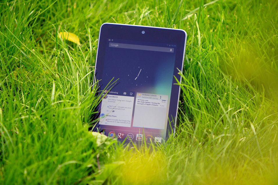 Google Nexus 7.