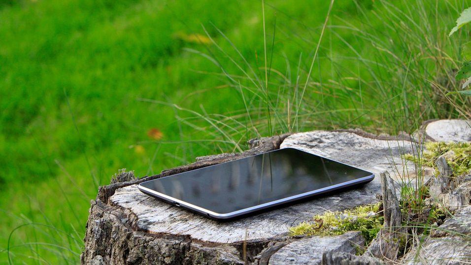 Slik ser Google Nexus 7 ut i dag. Til våren kan det bli tynnere og bedre.