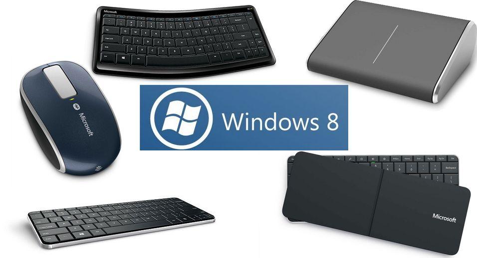 Microsoft slipper fire nye produkter, spesialtilpasset for Windows 8.