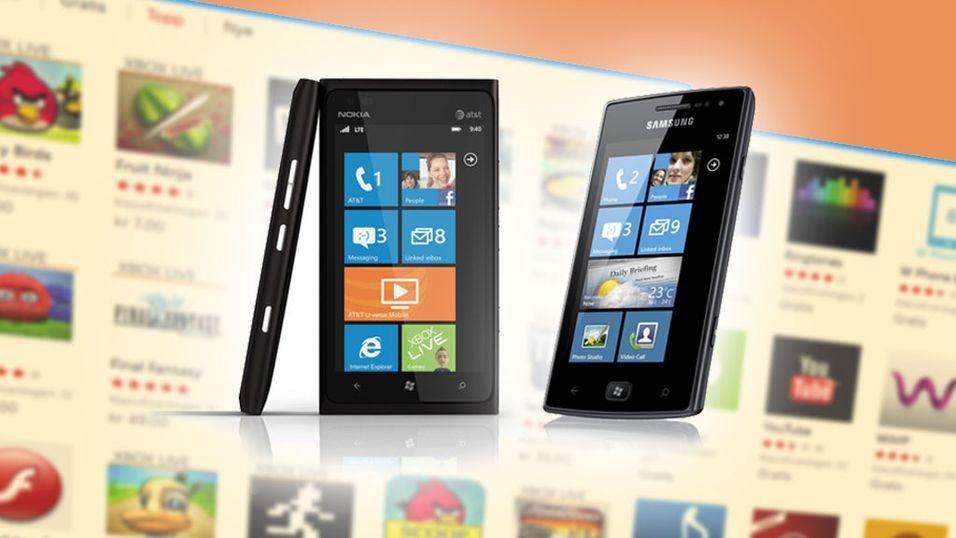 Essensielle apper til Windows Phone