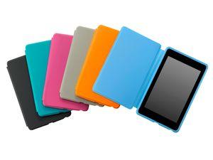 Du kan kjøpe deksler i en rekke farger til Google Nexus 7.