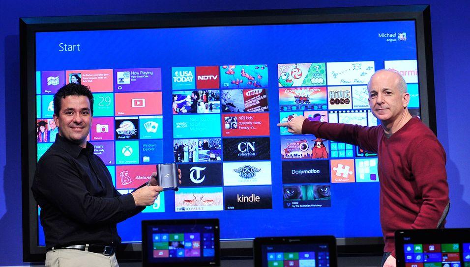 Windows er 8 er produksjonsklar