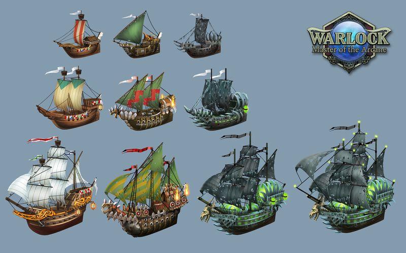 Скриншот из игры Warlock: Master of the Arcane под номером 3. Перейти к скр