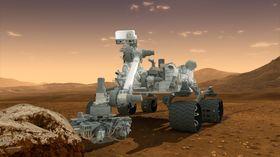 Mars-rovere som Curiosity skal i framtiden være koblet sammen i ett felles nettverk. .