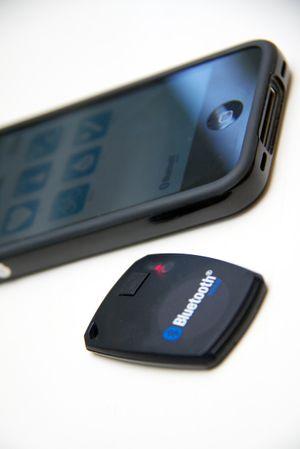"""Nordic Semiconductor har også laget en såkalt """"proximity sensor"""", som varsler hvis for eksempel mobiltelefonen og nøklene dine skulle komme for langt fra hverandre. ."""