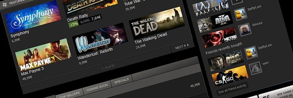 Steam vil selge nytteprogrammer