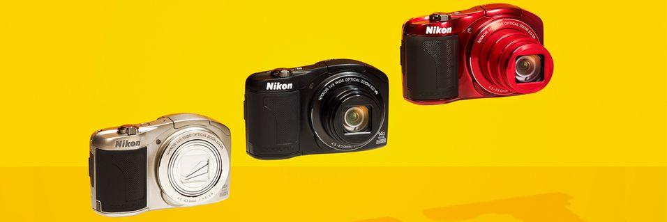 Lite kompaktkamera med mye zoom