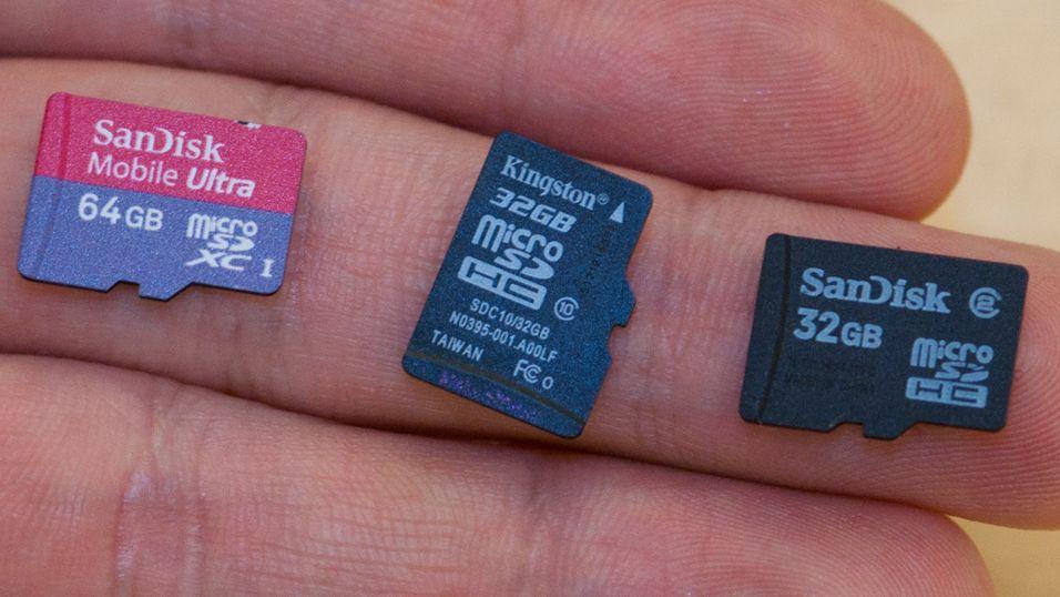 GUIDE: Kjøp riktig minnekort til mobilen