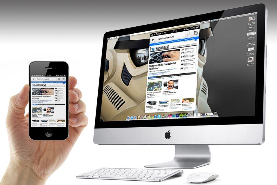 Alt du trenger for å speile innholdet fra en Mac, iPhone eller iPad til datamaskinen din er en applikasjon kalt AirServer.