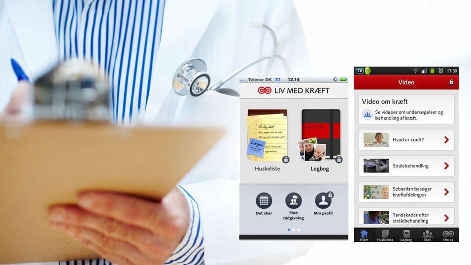 App for kreftsyke lansert