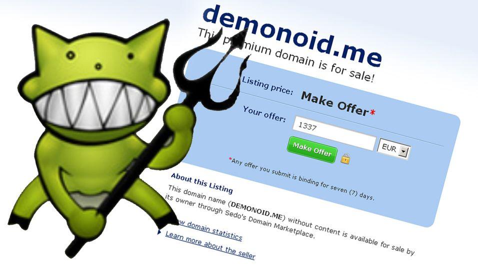 Tre Demonoid-domener er nå til salgs.