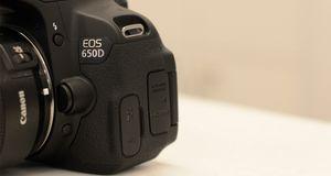 Gummiproblemer med Canon EOS 650D