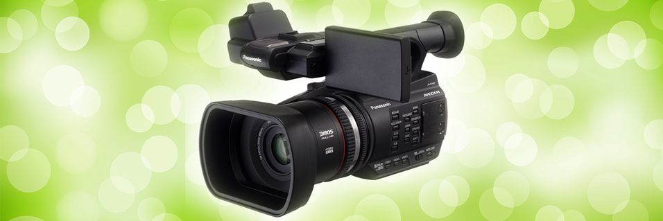 Panasonic slipper nytt videokamera