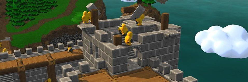 Minecraft møter Dungeon Keeper?