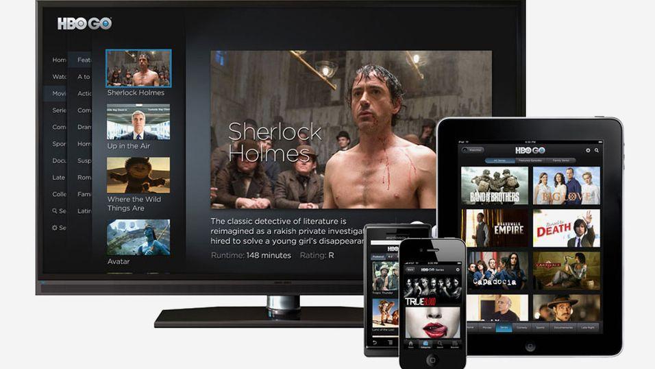 HBO vil ikke la Netflix ta for seg i Norden på egen hånd. Dette er et bilde av deres HBO GO-tjeneste.