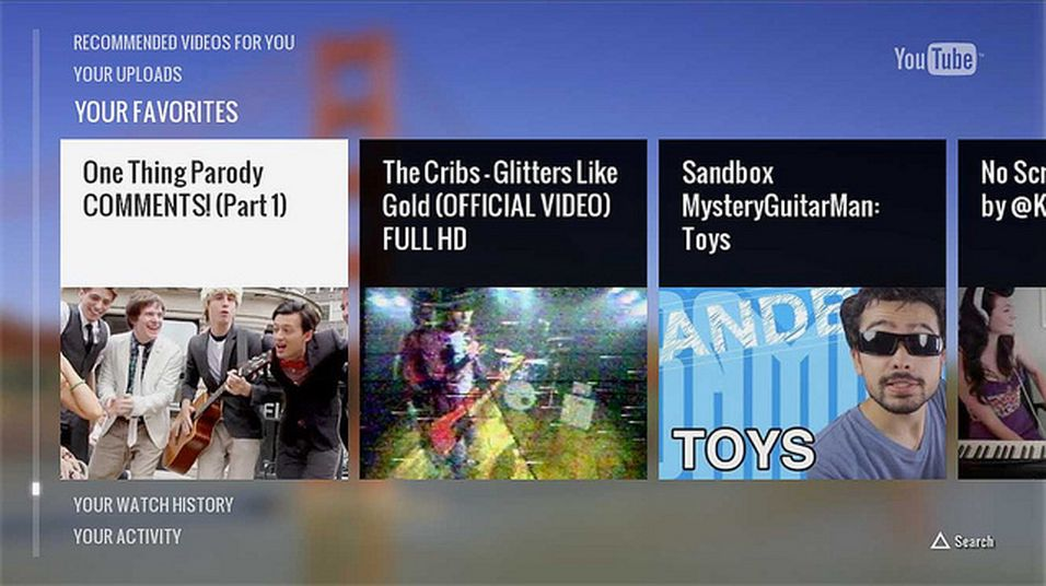 PlayStation 3 får dedikert YouTube-app