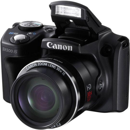 Canon PowerShot SX500 IS.