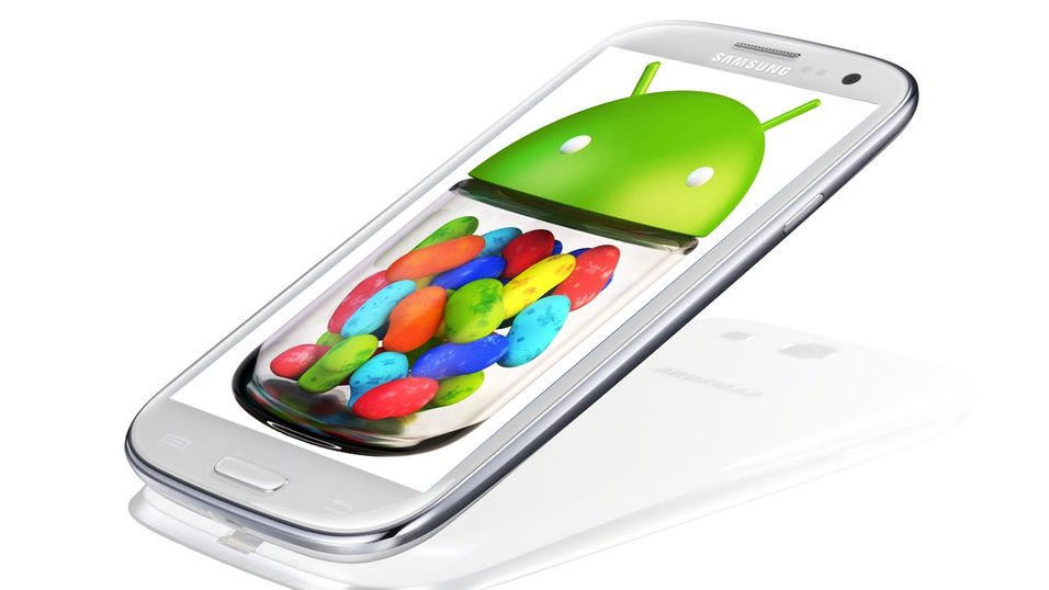 Samsung Galaxy S III får Jelly Bean.