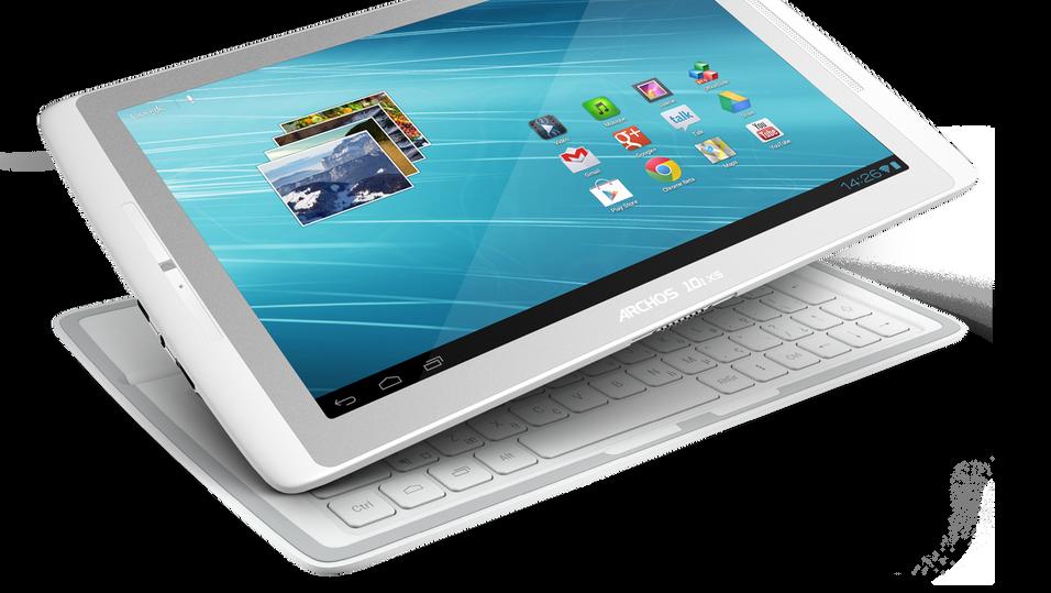 Archos Gen10 XS leveres med løst tastatur, som også fungerer som beskyttelsesdeksel.
