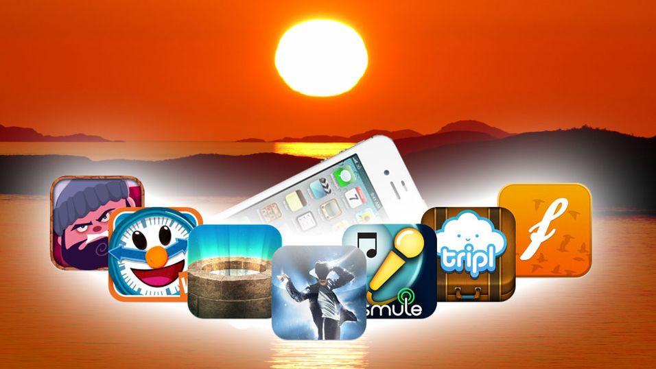 iPhone-appene fra sensommeren