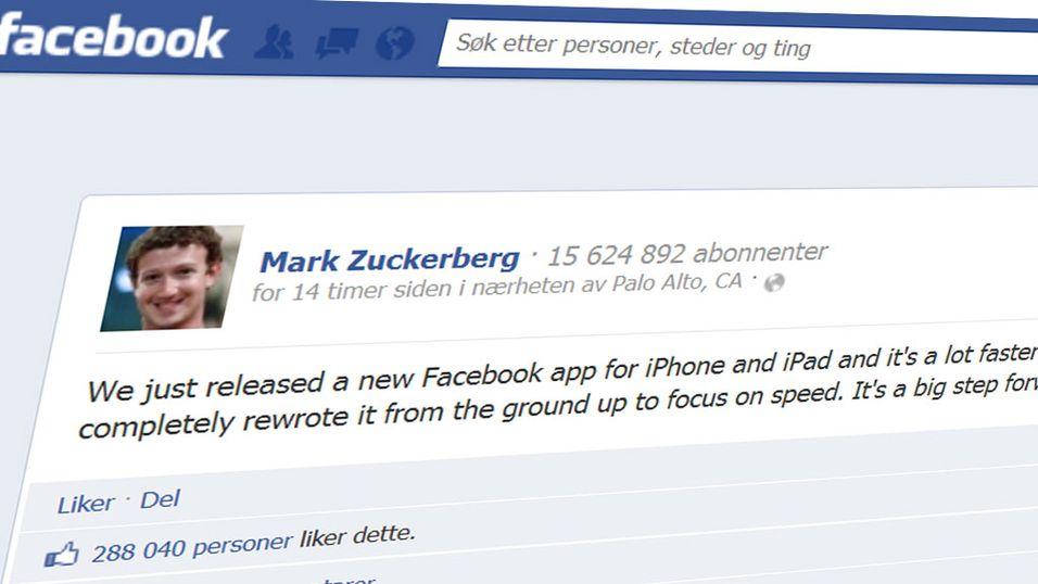 Går Facebook tregt på mobilen din?