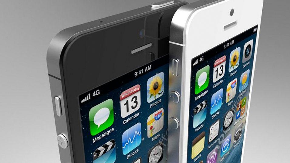 Slik ser designbyrået Blackpool Creative for seg at den nye iPhone-modellen kan komme til å se ut, basert på de siste ryktene.