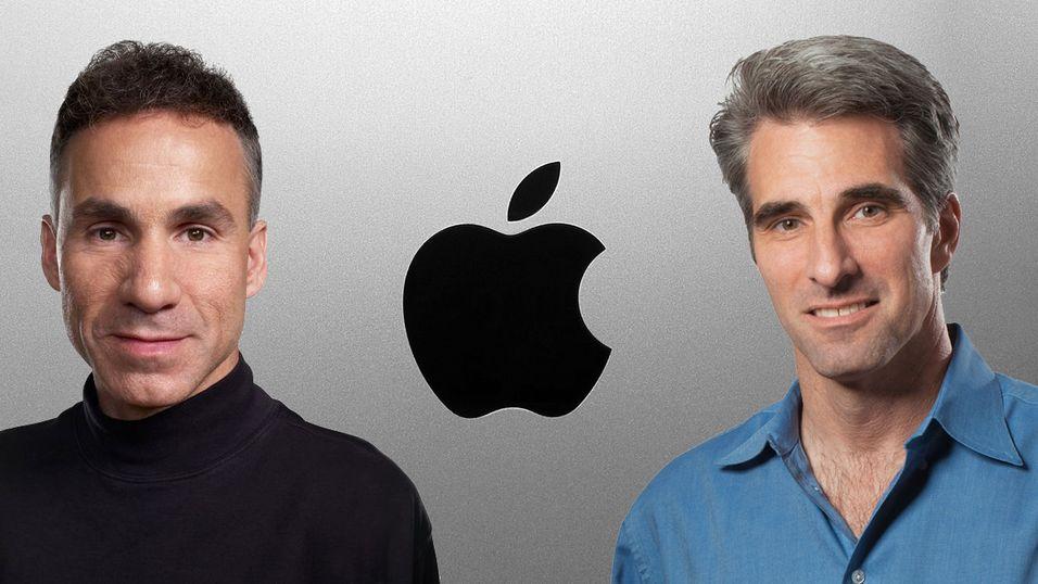 Dan Riccio og Craig Federighi har blitt forfremmet, og er nå  de nyeste medlemmene i Apple-eliten.