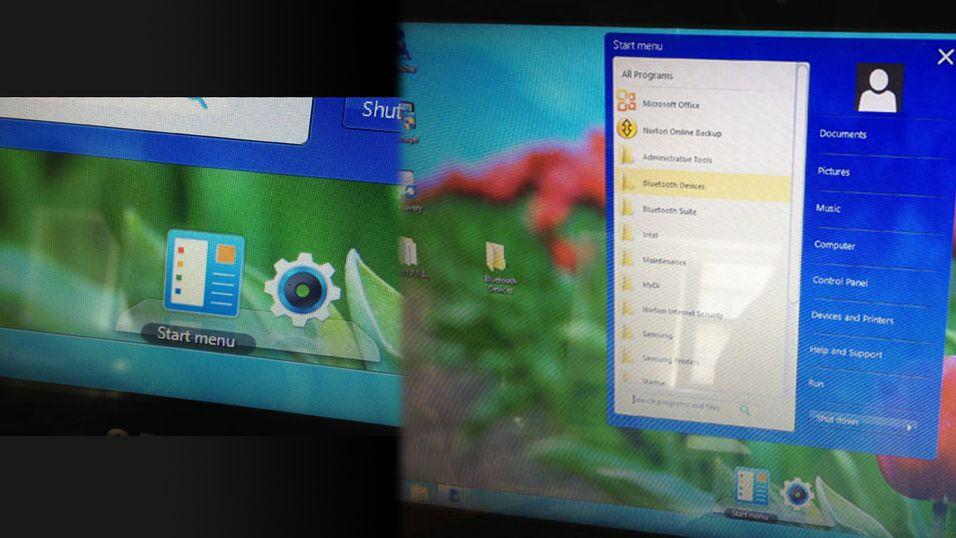 Denne skal erstatte startmenyen i Windows 8