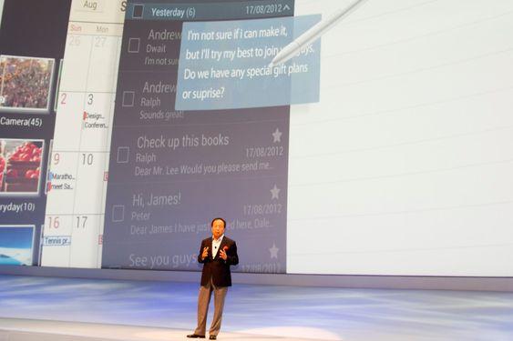 JK Shin i Samsung.