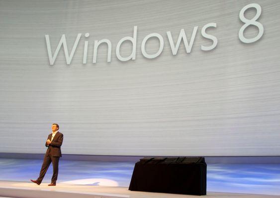 Windows 8-nettbrett.