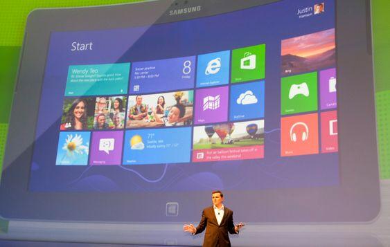 ATIV Tab benytter Windows 8.