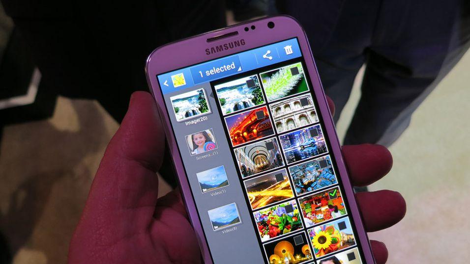 SNIKTITT: Gigantisk mobil fra Samsung