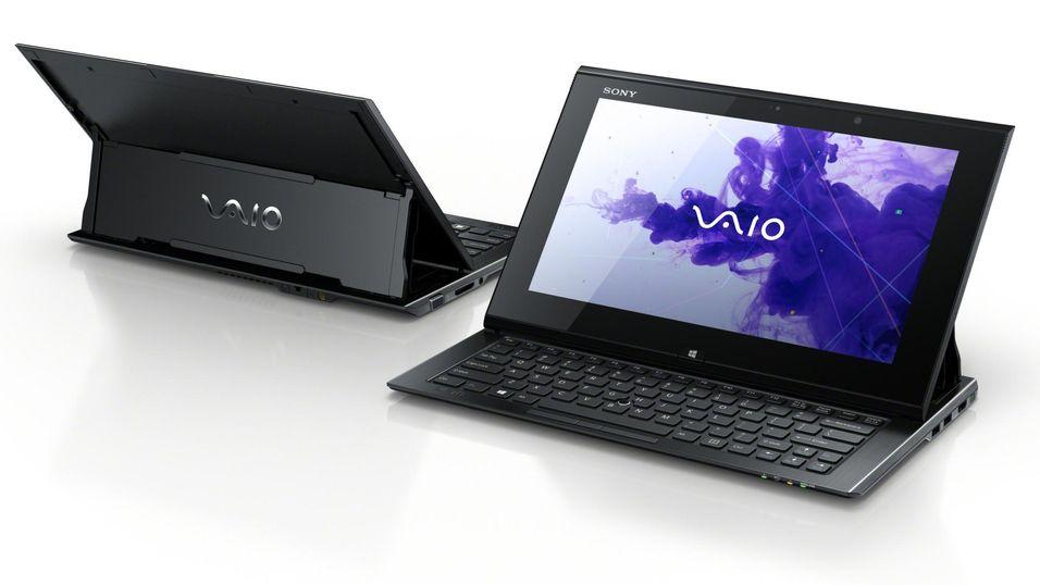 Sony lanserer hybrid-PC