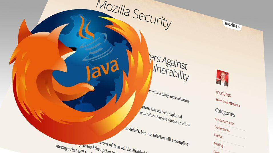 Mozilla tar Java-saken i egne hender, og jobber med å skru av Java automatisk for Firefox-brukere.